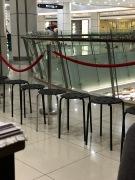 Stühle zum Warten