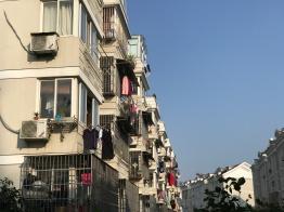 Heute ist Waschtag im Viertel
