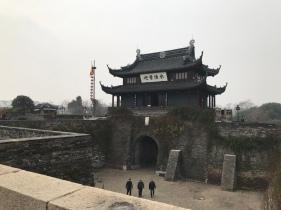 Stadttor und Mauer