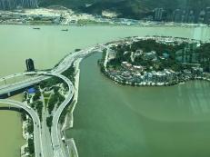 Blick auf Macau
